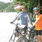 Photo of two Turkish bicycle tourists, Serkan and Birkan, who I met on day one in Turkey. I knew right away that Turkey would be a good place for touring