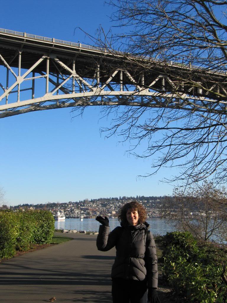 Noel Allen and the Aurora Bridge in Seattle