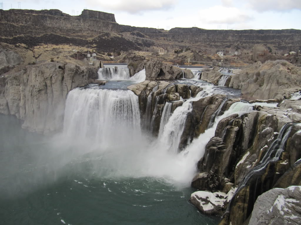 Shoshone Falls, outside of Twin Falls, ID