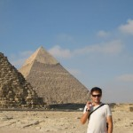Giza - Great Pyramid of Chefren
