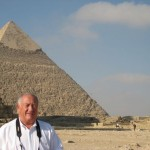 George Allen and Great Pyramid of Chefren