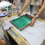 Screen Printing Process...