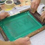 Screen Printing Close-Up