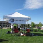 STW Tent at Greeley Strides