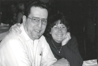 Sherry with her husband, Nick.