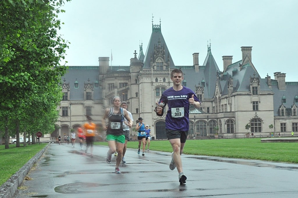 Nathan Alexander is running to raise funding for epilepsy research.