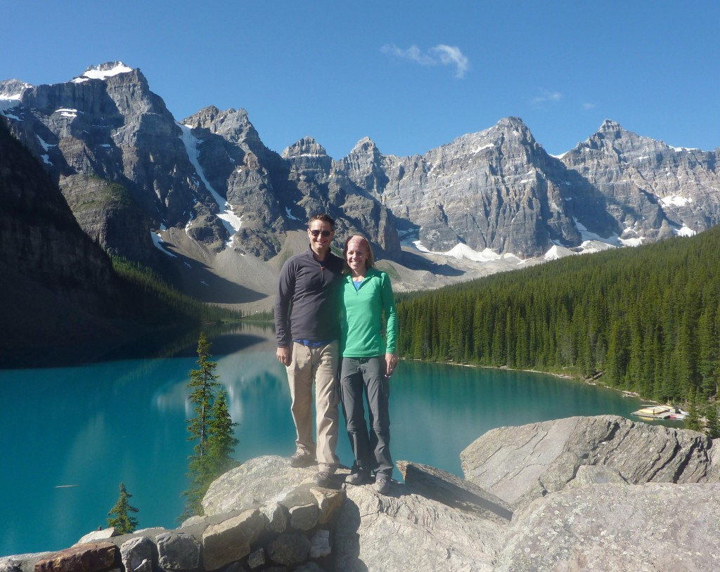 Now that Jessica's seizures are under control she is able to be more active. Here she is enjoying a beautiful hike with her husband in Alberta, Canada.