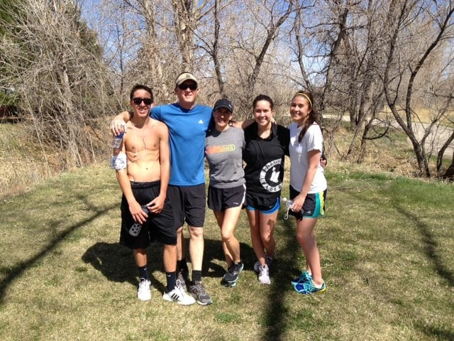 My family and I love to spend together. Running, is one of our favorite ways to stay active. We have done the Strides for Epilepsy run two years in a row now in Denver.