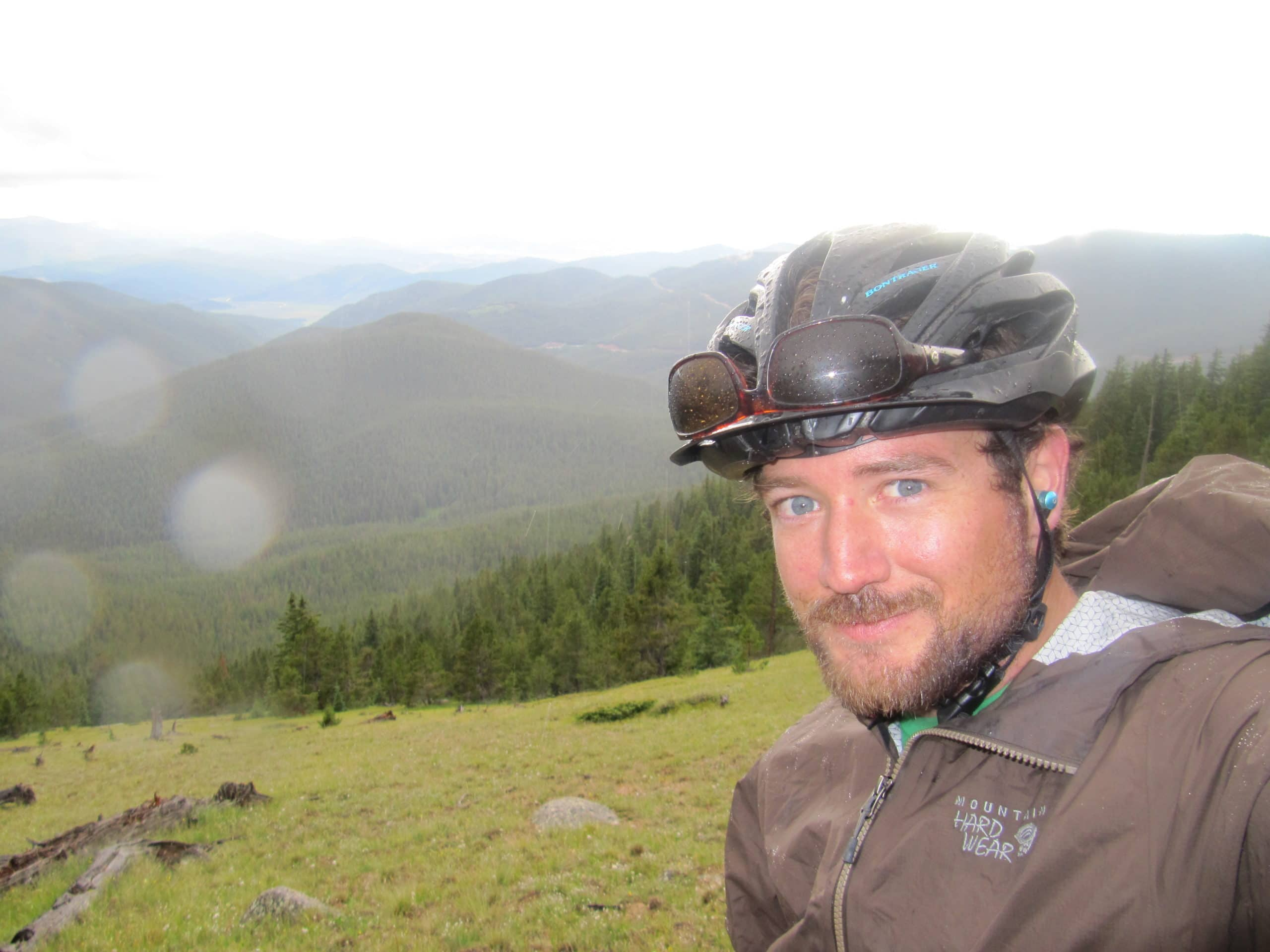 Stephen Allen Bikes the Colorado Trail